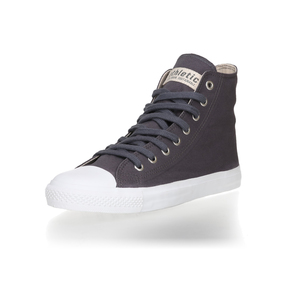 Fair Trainer Hi Cut Collection 18 Pewter Grey | Just White - Ethletic