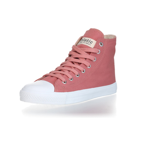 Fair Trainer Hi Cut Collection 18 Rose Dust | Just White - Ethletic