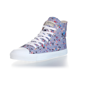 Fair Trainer Hi Cut Collection 18 Terrazzo Blueberry | Just White - Ethletic