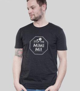 """Shirt Men Black """"MIMIMI"""" - SILBERFISCHER"""