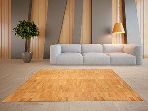 Korkteppich Cork Rug Teppich aus Kork 138x200cm  - Corkando