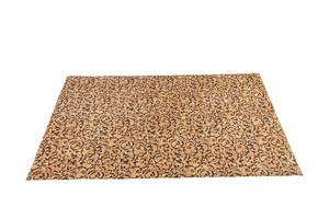 Korkteppich Cork Rug Teppich aus Kork 138x200cm Natur mit Muster Barock - Corkando