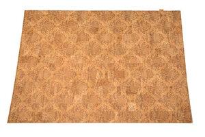 Korkteppich Cork Rug Teppich aus Kork 138x200cm Natur Beige Rokoko - Corkando
