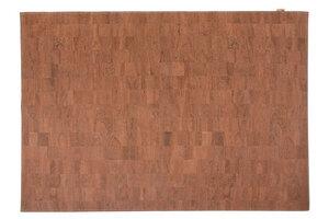 Korkteppich Cork Rug Teppich aus Kork 138x200cm Brown Marrom - Corkando