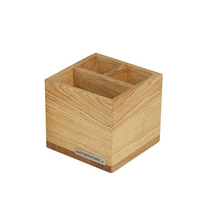 Office Stiftebox Stifteköcher CLASSIC Eichen-Holz von NATUREHOME - NATUREHOME