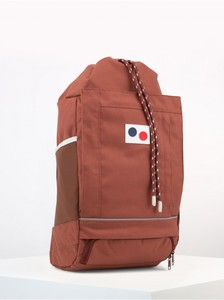 Blok Medium Backpack - Supple Red - pinqponq