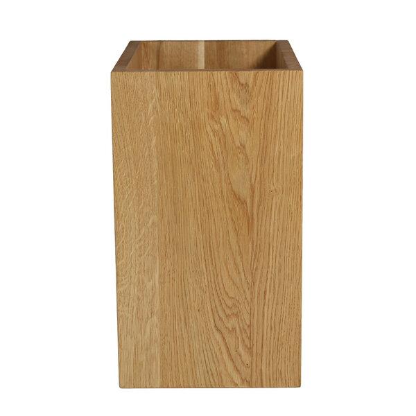 naturehome papierkorb classic eichen holz natur ge lt 20 x 30 x 35 cm avocadostore. Black Bedroom Furniture Sets. Home Design Ideas