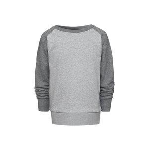 Kinder Raglan Sweatshirt Grau Bio & Fair - ThokkThokk