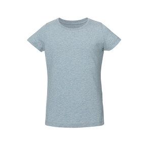 Mädchen T-Shirt Hellblau Bio & Fair - ThokkThokk ST