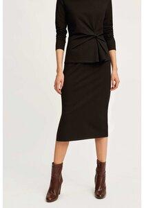 Keira Pencil Skirt Black - People Tree