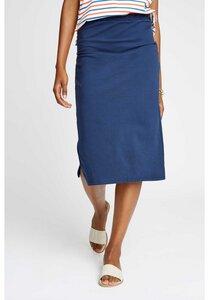Keira Pencil Skirt Navy - People Tree