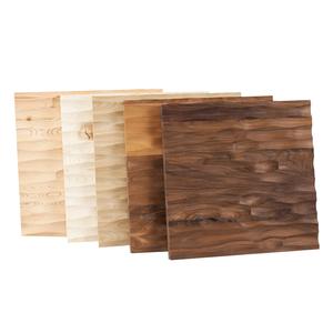 Edles Wandpaneel aus Massivholz 33x33 cm - 4betterdays