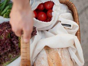 Neu! 4er-Set Naturtaschen in 4 verschiedenen Größen - Naturtasche