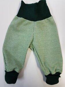 Babyhose Knit-Knit hellgrün - Omilich