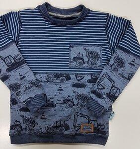 Kinder-Shirt/Longsleeve Baufahrzeuge aus Bio-Jersey - Omilich