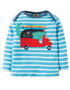 "Langarm T-Shirt ""Bobby"" - Frugi"