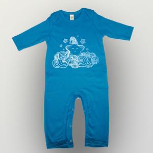 'Sternchen' Baby Jumpsuit FAIR WEAR ORGANIC - shop handgedruckt