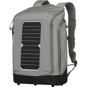 Solar Backpack Big - Monument Grey Mix - KnowledgeCotton Apparel
