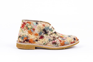 Deserto Desert Boot Woman in 4 Mustern  - Risorse Future