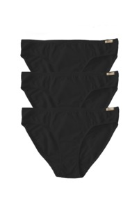 3er Pack Fairtrade Jazz-Pants, schwarz - comazo|earth