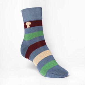 Tape Mid-Top Socken grey - THOKKTHOKK