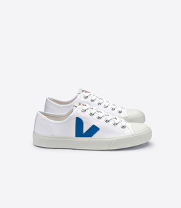 SNEAKER - WATA CANVAS WHITE SWEDISH BLUE - Veja