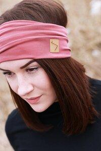 Bandana Stirnband - Vintage Rose - dreisechzig