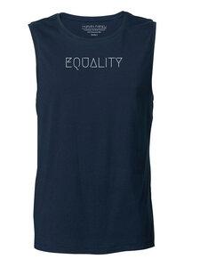 "Ärmelloses Herren T-Shirt - Skates ""Equality"" - Human Family"