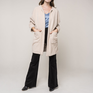Long Jacket  ALAN beige - JAN N JUNE