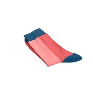 Colour Block Socken pink - VNS Organic Socks