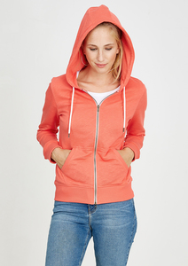 Basic Zipper #SLUB coral - recolution