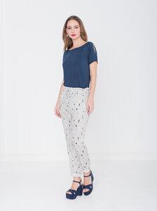 Shirt Lidewij - Blau - Miss Green