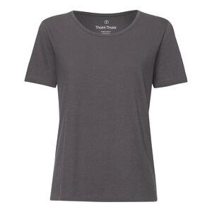 TT64 T-Shirt Damen Dunkelgrau Bio & Fair - ThokkThokk