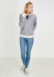 Sweatshirt Tube blau gestreift - recolution