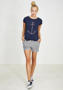 T-Shirt #ANCHOR navy blau - recolution