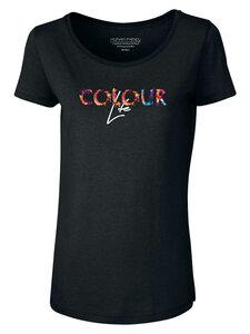 "Damen Modal T-Shirt ""Idolize Modal - Colour Life"" - Human Family"