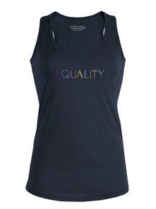 """Racerback Tanktop - Shine """"Equality"""" - Human Family"""