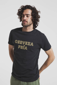 Cerveza Fria Shirt - Phantom - thinking mu