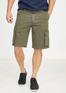 Cargo Shorts olive grün - recolution