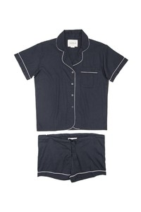 Blue Short Classic Pijama - Blue Total Eclipse - thinking mu