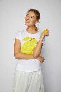 Charity Shirt 'citrus' GOTS aus Bio-Baumwolle - Lanius