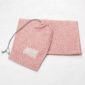 Decke mit Aufbewahrungstasche rosé - David Fussenegger