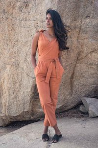 Jumpsuit Jaya, rost - Jyoti - Fair Works