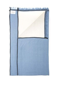 Pareo Towel - Blue - thinking mu