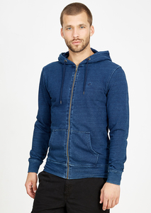 Basic Zipper #INDIGO blau  - recolution