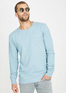 Sweatshirt grau blau - recolution