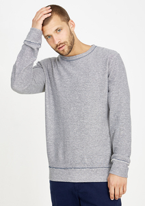 Sweatshirt blau gestreift - recolution