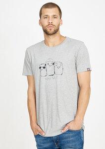 T-Shirt #3BIRDS grau - recolution