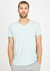 T-Shirt V-Neck mint - recolution