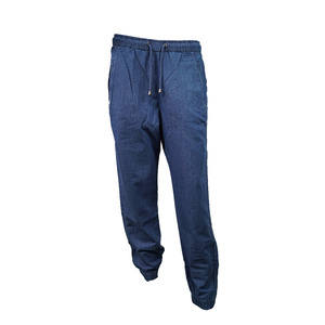 Hose mit elastischem Bund Light Denim - Madness